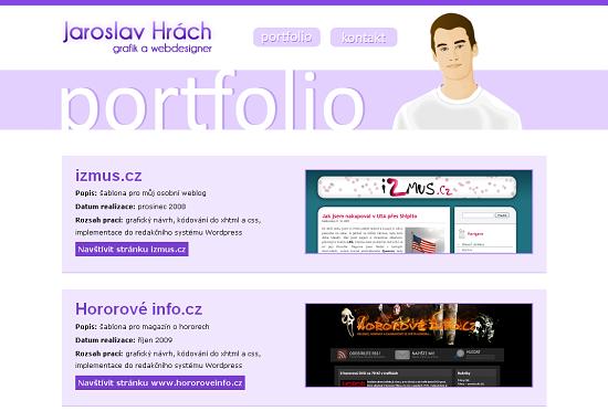 Jaroslav Hrách - portfolio