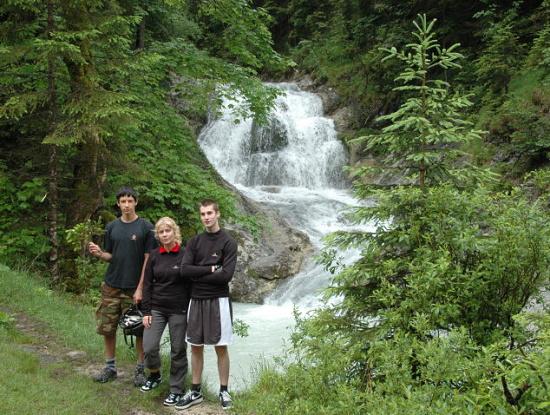 Dovolená v Německu - vodopády