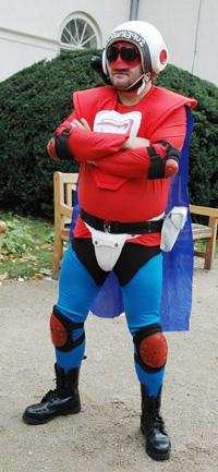 SuperVáclav - maník, který zakročil proti lhostejnosti a pokrytectví ve společnosti