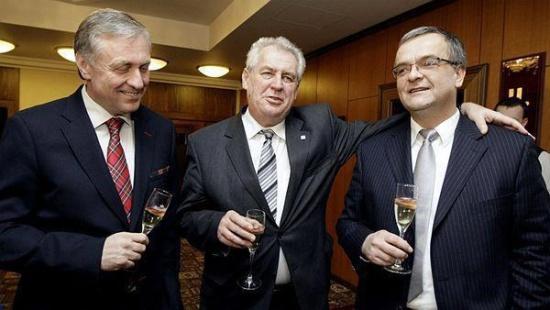 """Miloš Zeman, prezident chudých."""