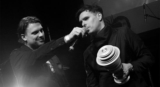 Hudební ceny Apollo 2012 - James Cole a Boris Carloff